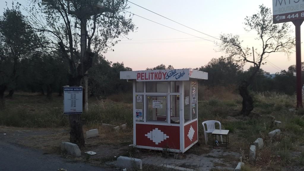 Pelitköy Taksi durağı