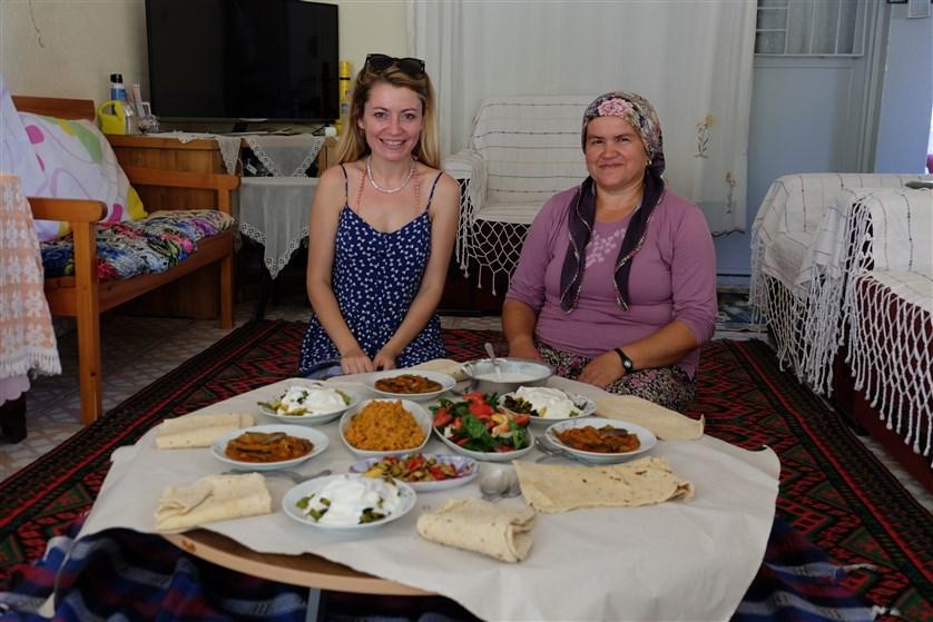 Arife Teyze ve yemekleri