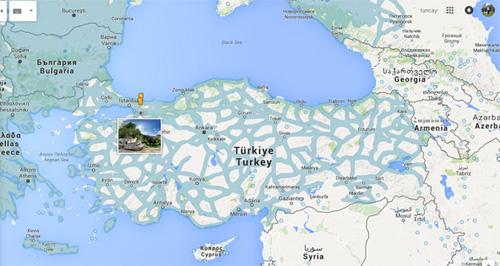 Google Street View Türkiye ağı