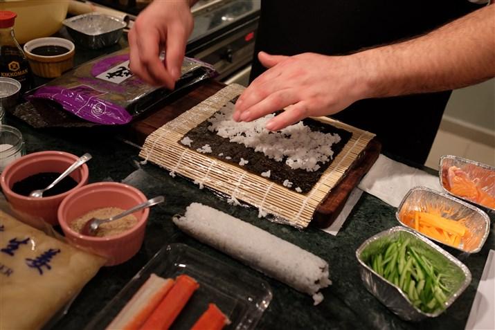 city cooks- sıushi workshop