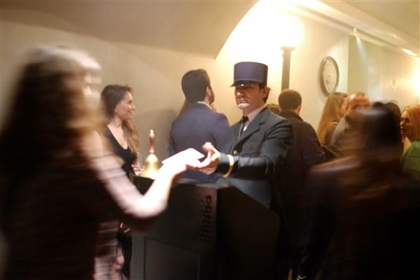 Orient Express - secret dining- on karaköy
