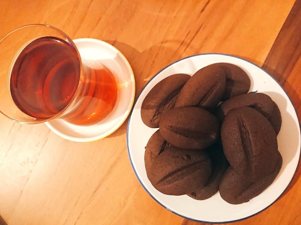 kahve kurabiyesi - kahveli kurabiye tarifi